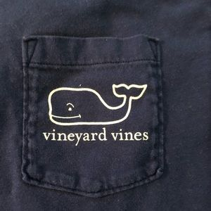 Vineyard Vines Shirts - Vineyard Vines Christmas Santa Whale Long Sleeve